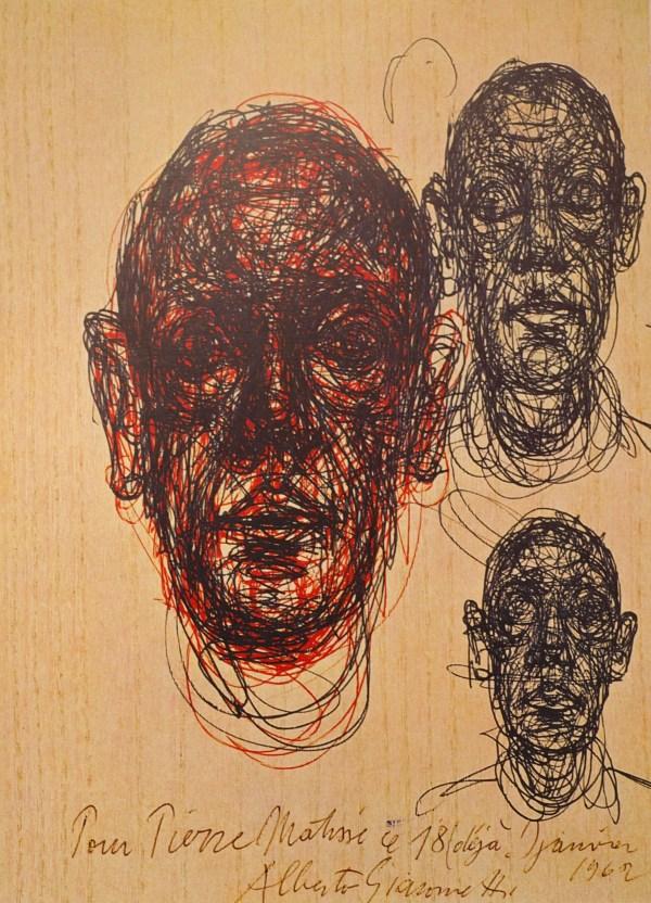 Giacometti Drawings Rhysscorey