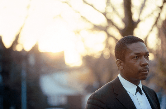 John Coltrane. Photograph: Jim Marshall.