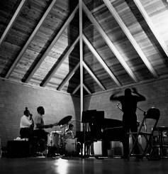 Rudy Van Gelder's recording studio. Englewood Cliffs, New Jersey.