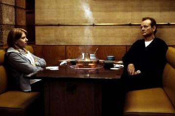 Scarlett Johansson and Bill Murray in Sofia Coppola's Lost in Translation (2003)