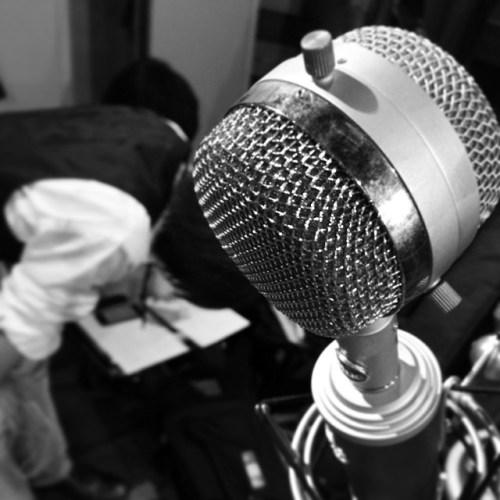 今から一曲だけレコーディング入りまーす #BOMmER