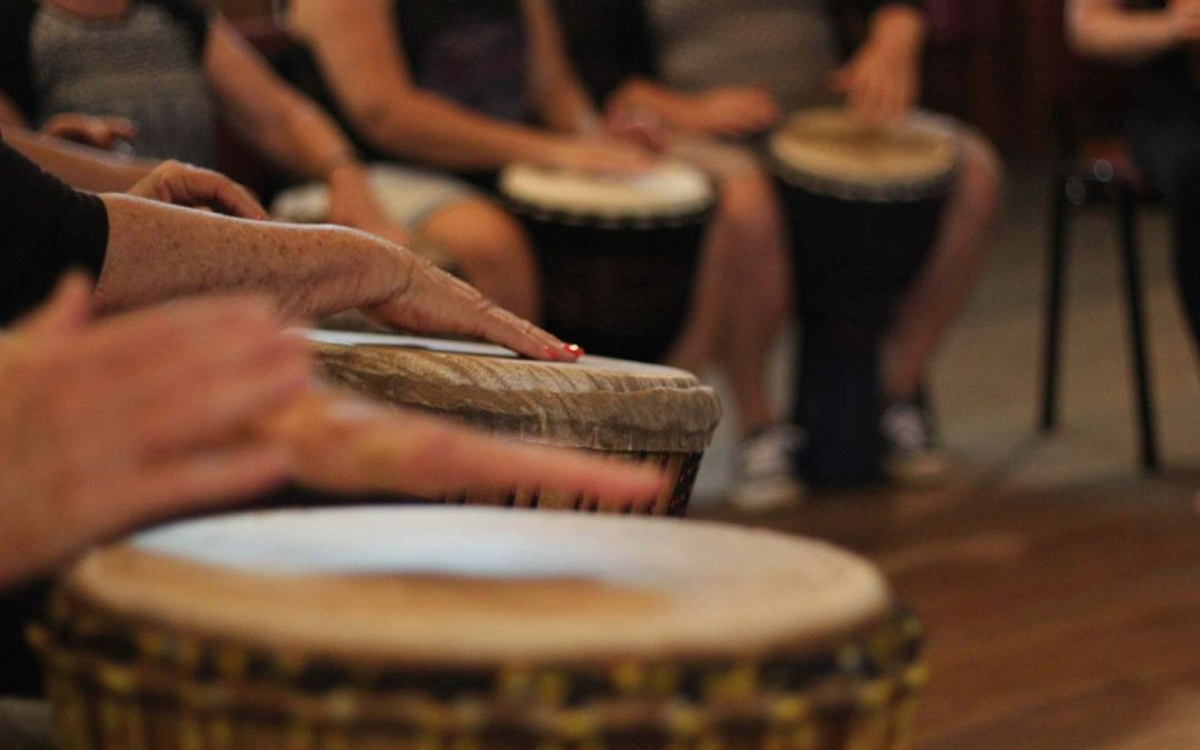 African drumming for beginners and experienced – online video