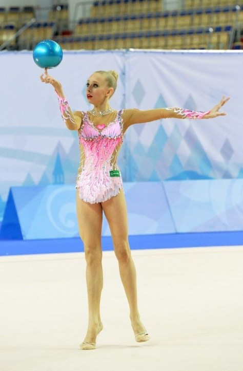 Yana Kudryavtseva Original ball Element  Rhythmic
