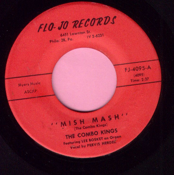 "The Combo Kings "" Mish Mash "" Flo-Jo Records Vg+"