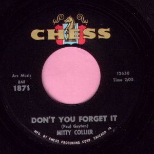 "Mitty Collier "" Don't You Forget It "" Chess M-"
