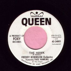 "Freddy Robinson "" The Hawk "" Queen Vg+"