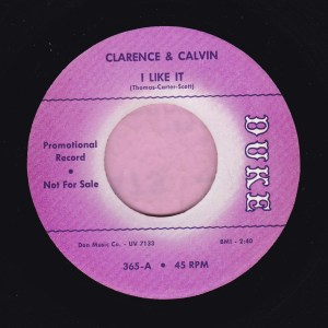 "Clarence And Calvin "" I Like It "" Duke Demo Vg+"