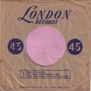 London Records U.S.A. Company Sleeve 1951 – 1965