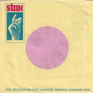 Stax Records U.S.A. Company Sleeve 1968 – 1971