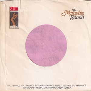 Stax Records U.S.A. The Memphis Sound Company Sleeve 1971 – 1975