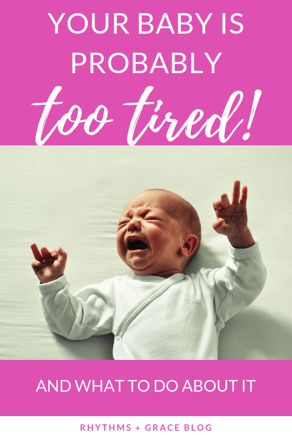 The secret to getting your baby to nap longer is not to keep them awake... it's actually to put them to sleep earlier. A mom of 4 explains why babies need longer naps than you think and how to troubleshoot naptime problems. #sleeptraining #infantsleep #babysleeptipsgetting baby to nap longer | baby cries all day | baby won't sleep | baby won't nap | get baby to go to bed earlier