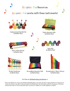 Xylophone Fun Resources