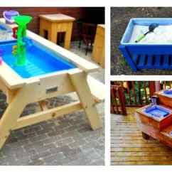 Step2 Table And Chairs With Umbrella Recliner Office Chair Playskool Sand Water Picnic | Modern Coffee Tables Accent