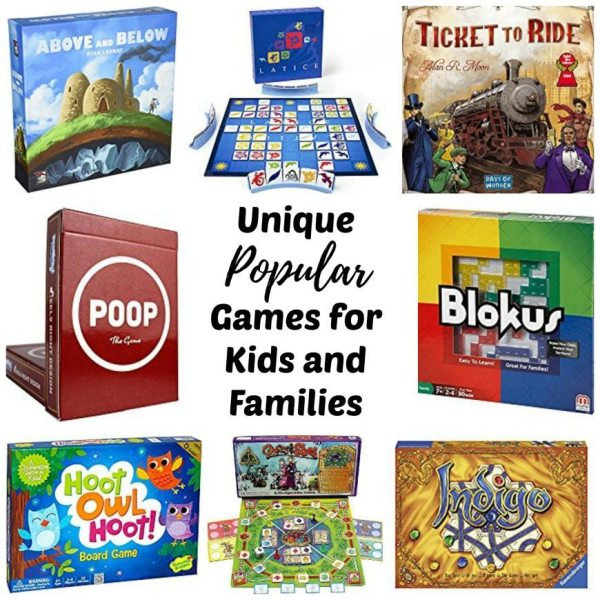 Unique Popular Board Games Kids And Families - Rhythms Of Play