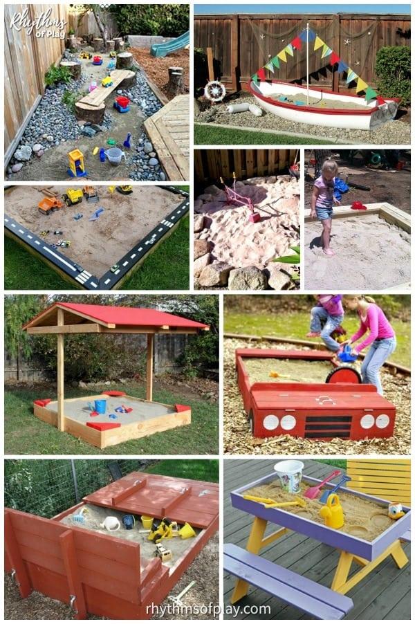 best sandbox ideas for