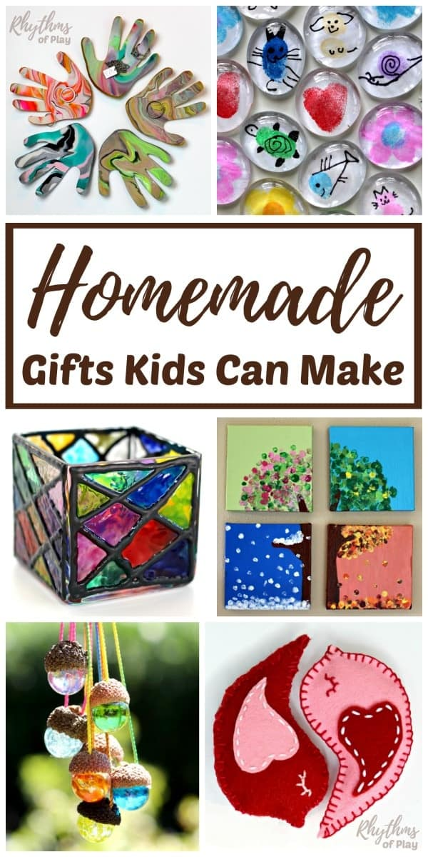 homemade gifts kids can