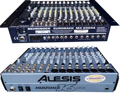 AUDIO MIXING BOARDS