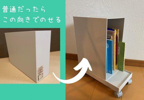 ファイルボックスの向き変更