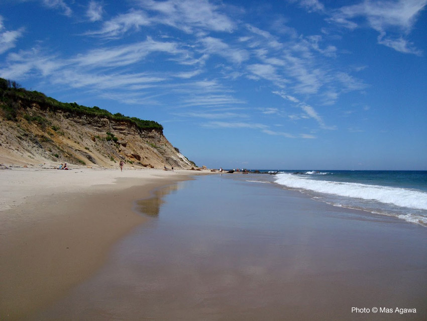 New England Fall Desktop Wallpaper Clay Head Beach Block Island Rhode Island