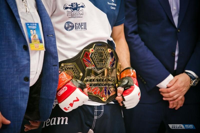 Дамир Исмагулов победитель турнира M-1 Challenge 94 в Оренбурге