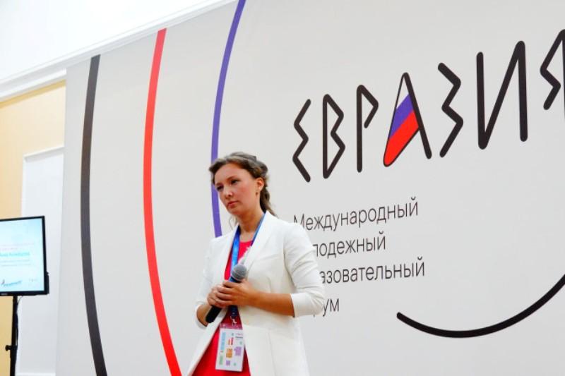 Анна Кузнецова у кадетов в гостях