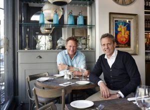 L to R - John Whitehead and Rob Beacham