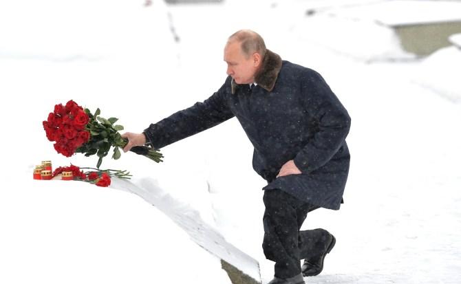 Владимир Путин отпразднует юбилей Сталинградской Победы в Волгограде