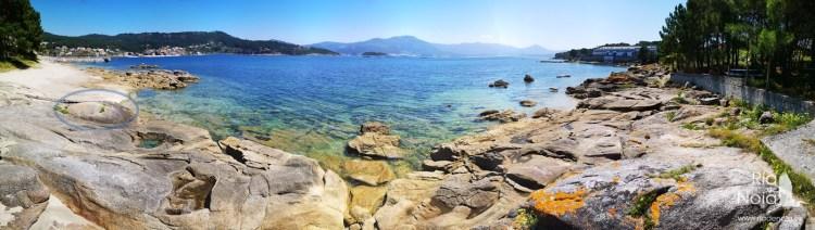 Entorno de la Playa de Agrocovo, donde se encuentran las formaciones rocosas