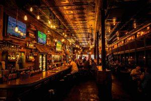 stop binge drinking, man at bar