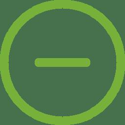 minus-circular-button green