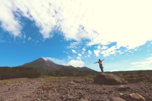 medication makes quitting easier woman hiking
