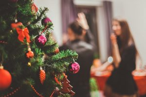 navigating the holidays sober christmas party