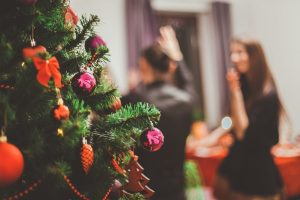 navigating the holidays sober christmas party