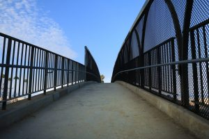 Santa Monica bridge, moving on from the years I lost to alcohol