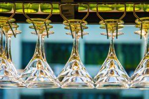 gradually quit drinking upside down glasses