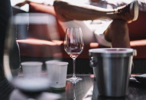 empty wine glass how to stay sober when your spouse drinks