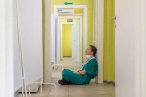 doctor nurse stress