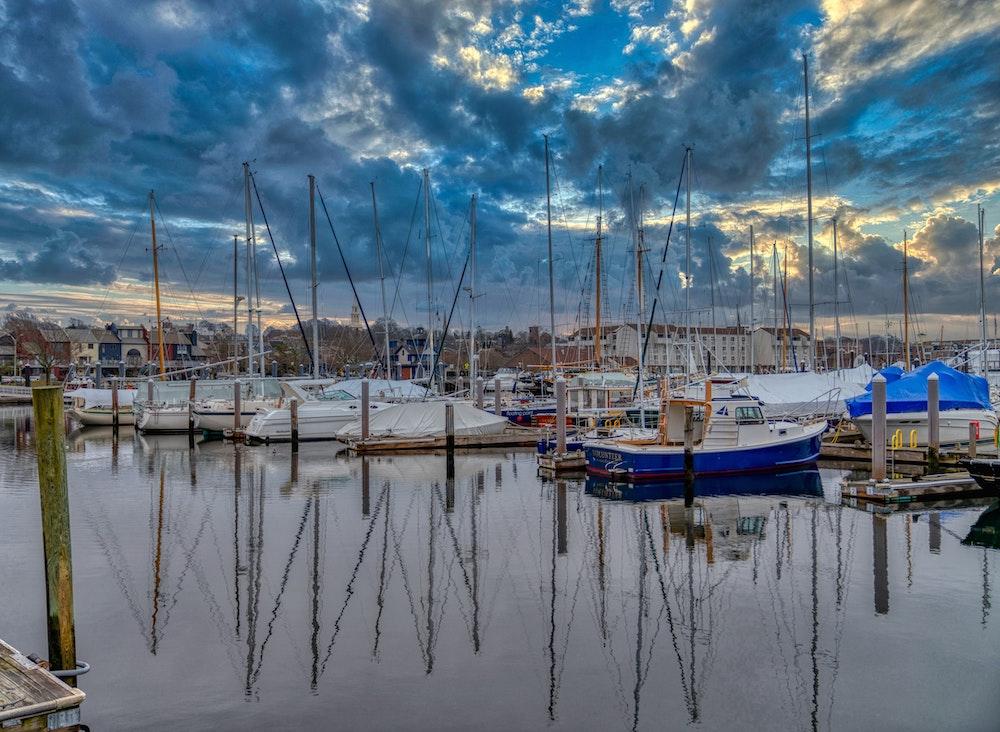 Newport Harbour Rhode Island-2021