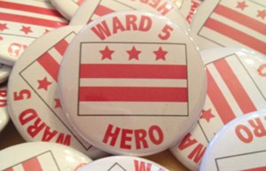 Ward 5 Hero buttons