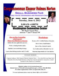 Small Business Fair 2013