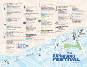 (Up)Rising Festival Map