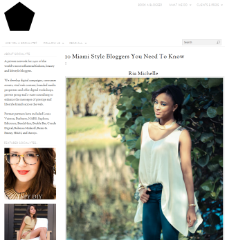 Scoialyte.co Top 10 Miami Style Bloggers To Know