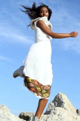Brittney DePriest for Zemen Lookbook by Shamayim