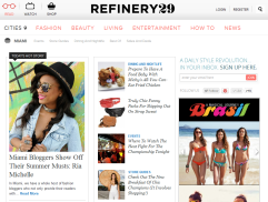 Refinery 29 Ria Michelle Miami Fashion Blogger Feature