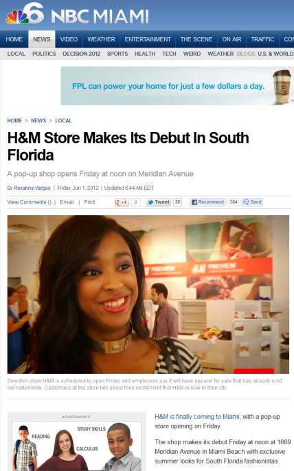H&M Miami