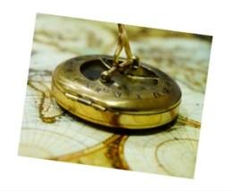 skewed compass