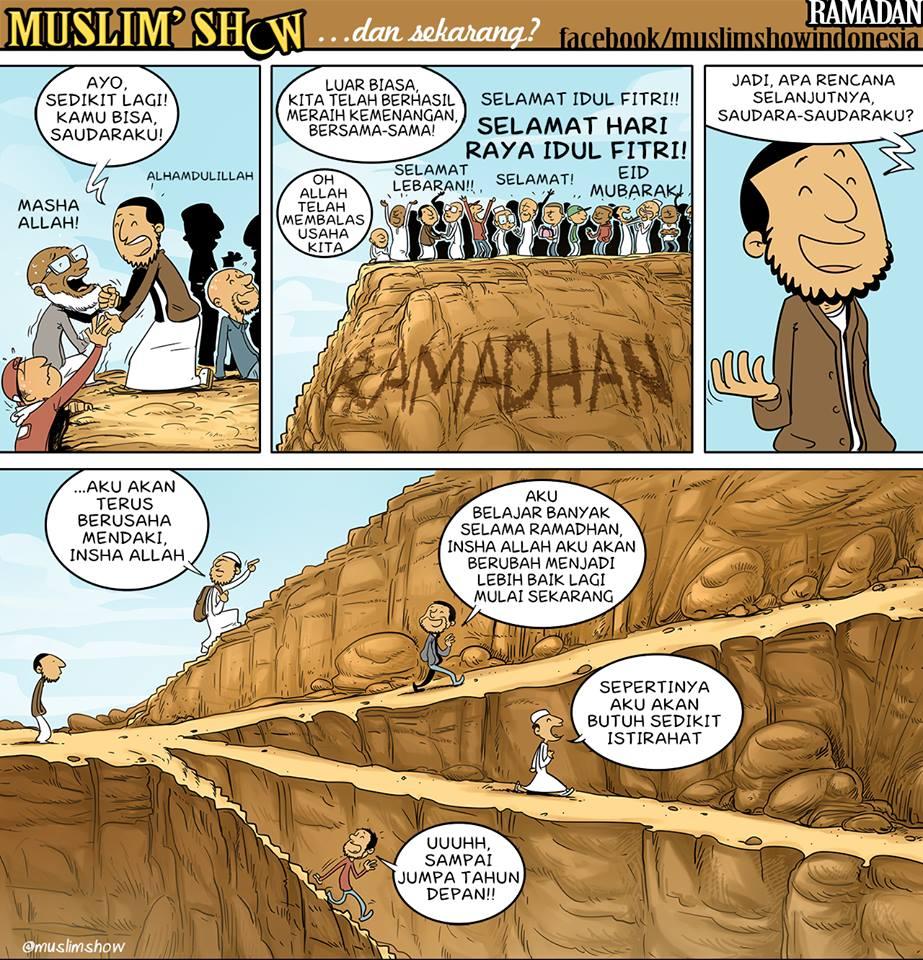 Kumpulan Komik Muslim Show Bahasa Indonesia Part 2