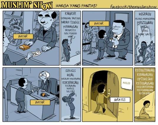 KUMPULAN KOMIK MUSLIM SHOW BAHASA INDONESIA PART 1