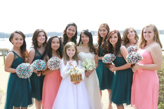 View More: http://sarahmichelephotography.pass.us/black-wedding