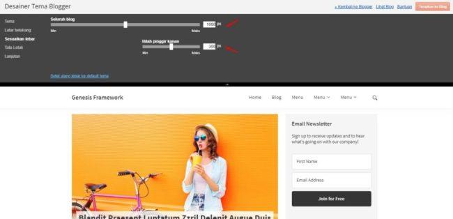 AntiBom Minimalist, Template Blogger Simple dan Elegant